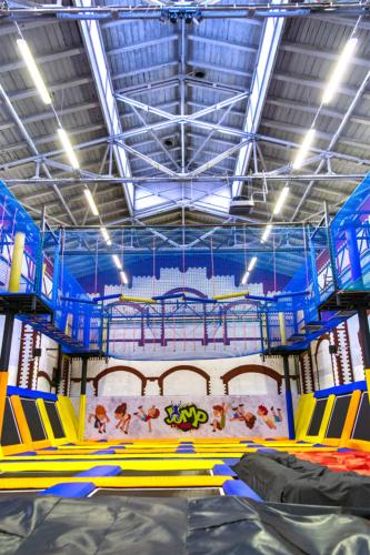 Pilski Park Rozrywki Jump Extreme w nowej odsłonie. Fot. Marcin Maziarz