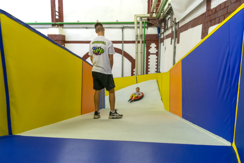 Nowe otwarcie Pilskiego Parku Rozrywki Jump Extreme. Fot. Marcin Maziarz